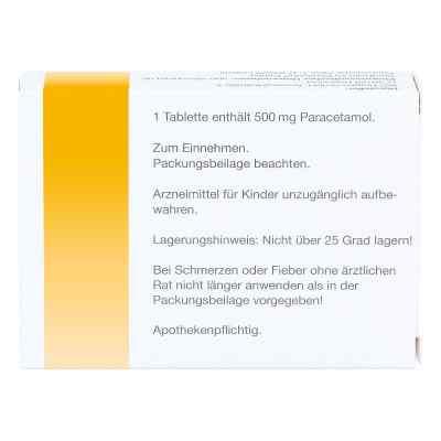 Paracetamol 500 mg Schmerztabletten von apo-discounter  bei apolux.de bestellen