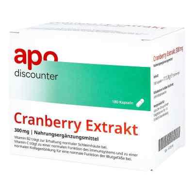Cranberry Extrakt 300 mg Kapseln von apo-discounter  bei apolux.de bestellen