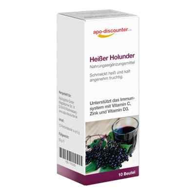 Heisser Holunder Pulver Beutel von apo-discounter  bei apolux.de bestellen