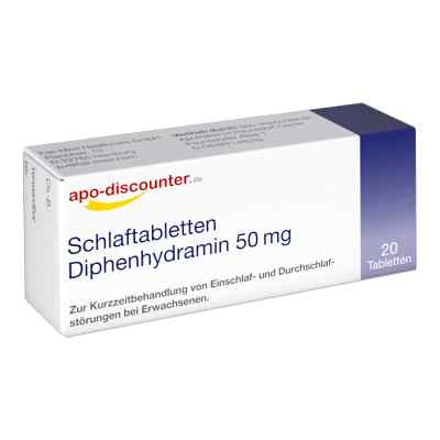 Schlaftabletten Diphenhydramin 50 mg/Apodiscounter  bei apolux.de bestellen