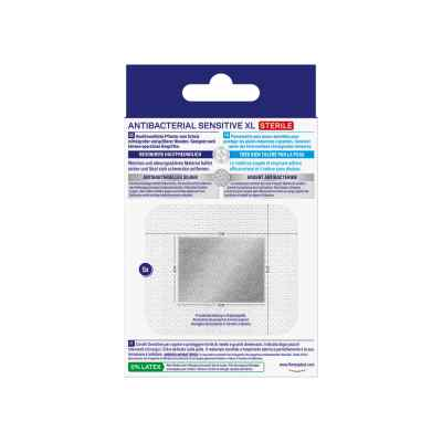 Hansaplast Antibacterial Sensitive XL 6x7  bei apolux.de bestellen