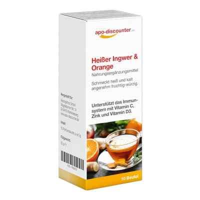Heisser Ingwer+orange Pulver  bei apolux.de bestellen