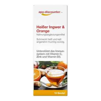 Heisser Ingwer + Orange Pulver von apo-discounter  bei apolux.de bestellen