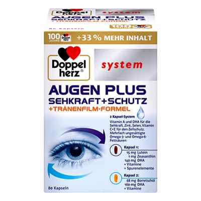 Doppelherz Augen Plus Sehkraft+schutz System Kapseln  bei apolux.de bestellen