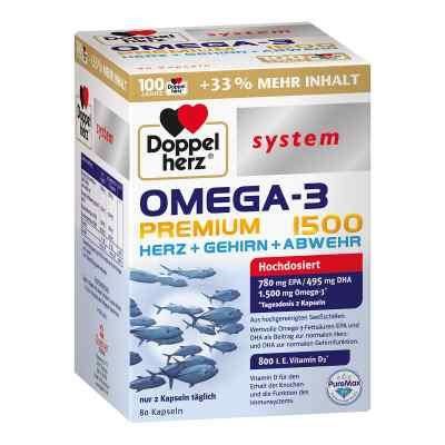 Doppelherz Omega-3 Premium 1500 System Kapseln  bei apolux.de bestellen