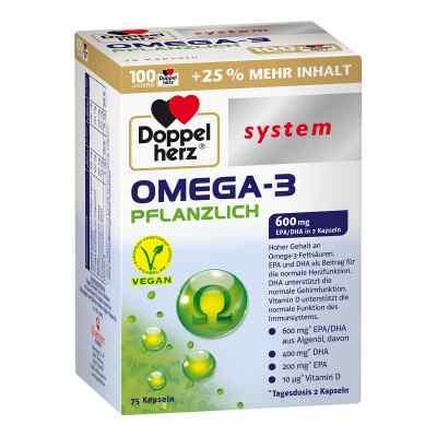 Doppelherz Omega-3 Pflanzlich System Kapseln  bei apolux.de bestellen