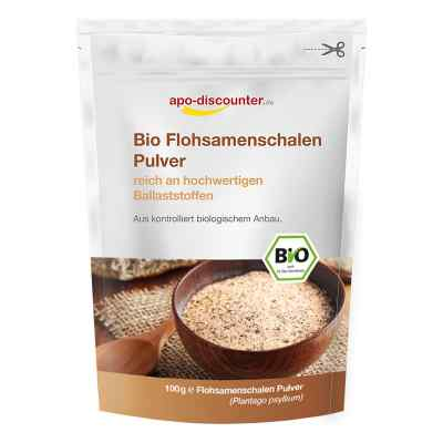 Bio Flohsamenschalen Pulver  bei apolux.de bestellen