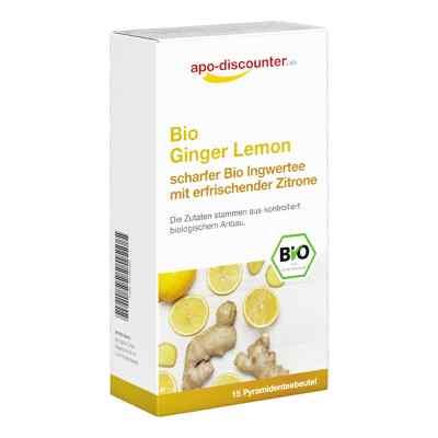 Bio Ginger Lemon Tee Filterbeutel von apo-discounter  bei apolux.de bestellen