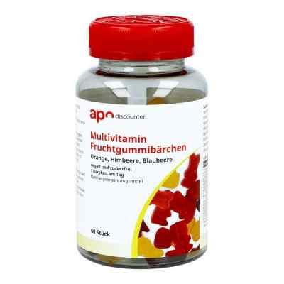 Gummibären Multivitamin vegan und zuckerfrei von apo-discounter  bei apolux.de bestellen