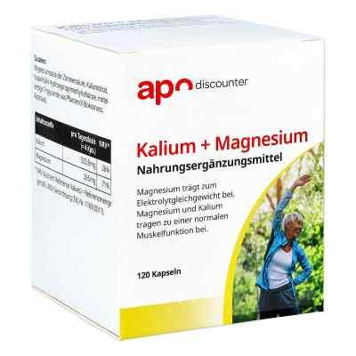 Kalium + Magnesium Kapseln von apo-discounter  bei apolux.de bestellen