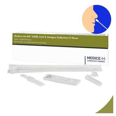 Laientest Medicovid-ag Sars-cov-2 Antigen Selbsttest Nase  bei apolux.de bestellen