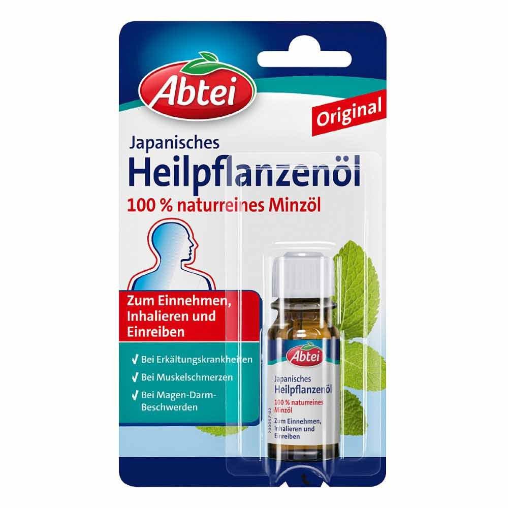 Omega Pharma Deutschland GmbH Abtei Japanisches Heilpflanzenöl 10 ml