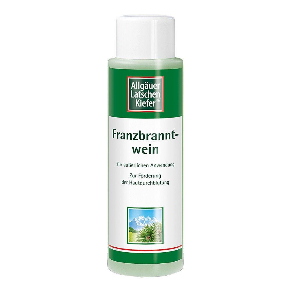 Dr. Theiss Naturwaren GmbH Allgäuer Latschenkiefer Franzbranntwein extra stark 500 ml
