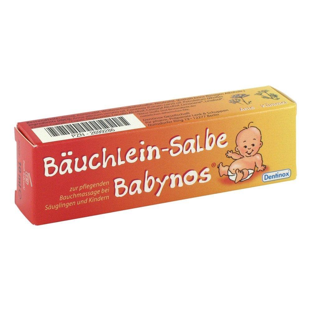 Dentinox Lenk & Schuppan KG Bäuchlein Salbe Babynos 10 ml