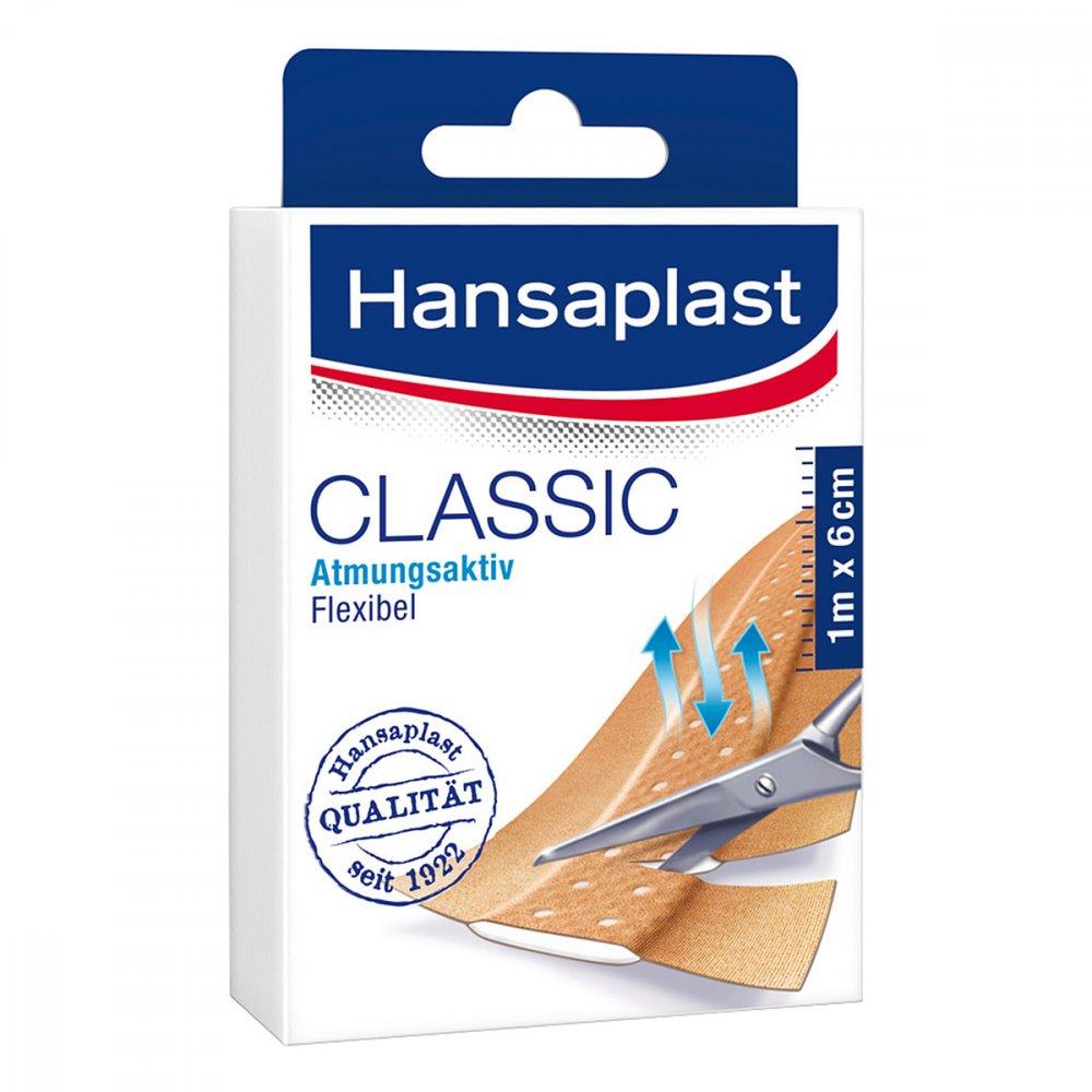 Beiersdorf AG Hansaplast Classic Pflaster 1mx6cm 1 stk